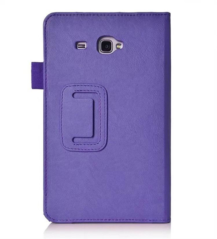 galaxy tab a 7 0 2016 plain case with card sections Purple: