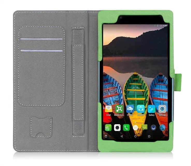 tab3 7 plain case with card slots and handle
