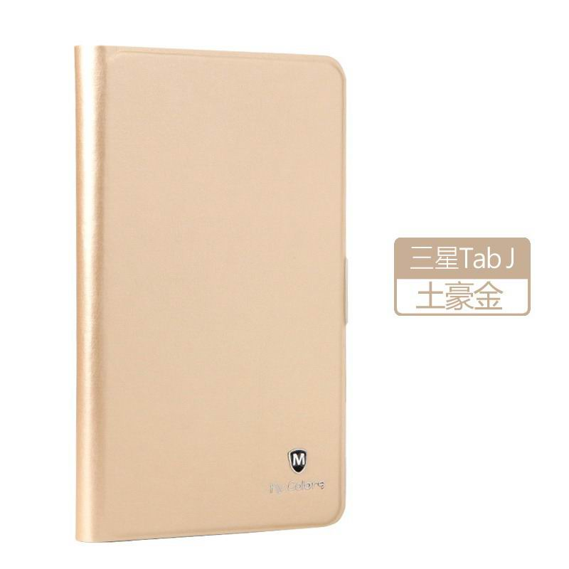galaxy tab j plain case with silicone housing Tyrant gold: