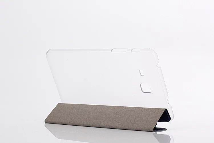 galaxy tab a 7 0 2016 plain case with transparent housing