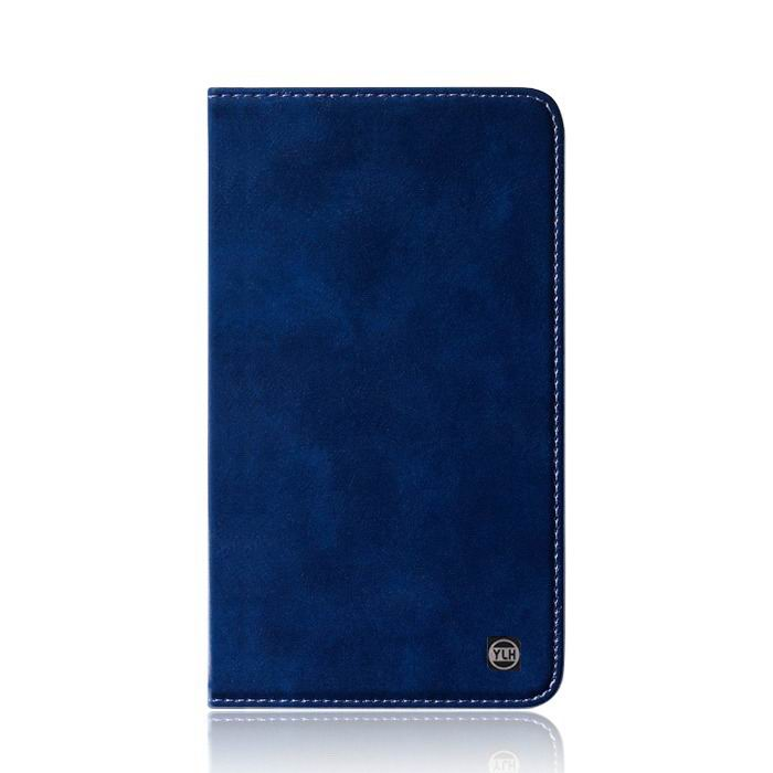 mediapad m3 plain leather case blue: