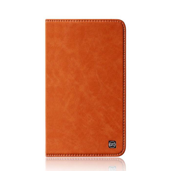 mediapad m3 plain leather case brown: