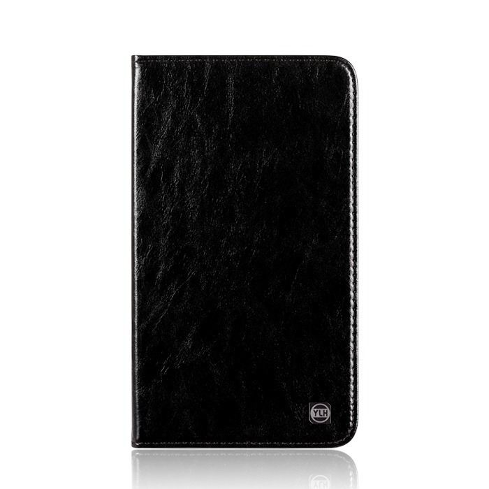 mediapad m3 plain leather case black: