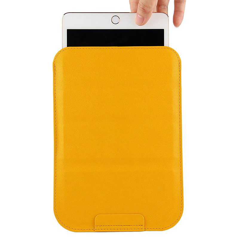 galaxy tab a 7 0 2016 plain sleeve bag 2 Yellow: