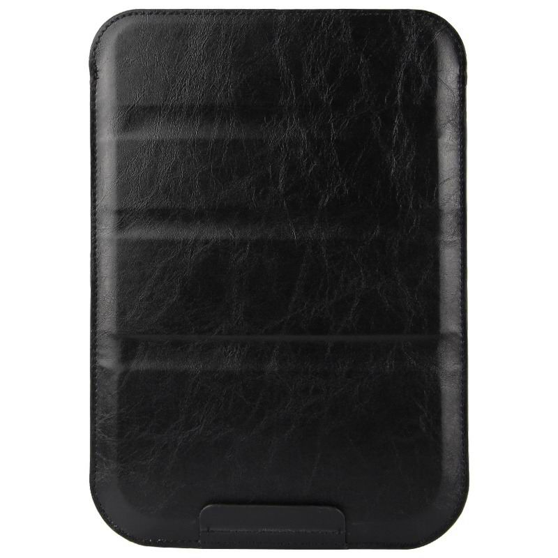 galaxy tab a 7 0 2016 plain sleeve bag 2 Australia calf leather black: