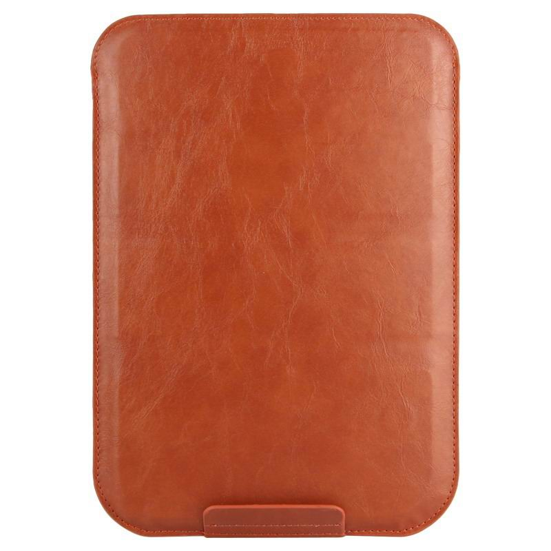 galaxy tab a 7 0 2016 plain sleeve bag 2 Australia calf leather brown: