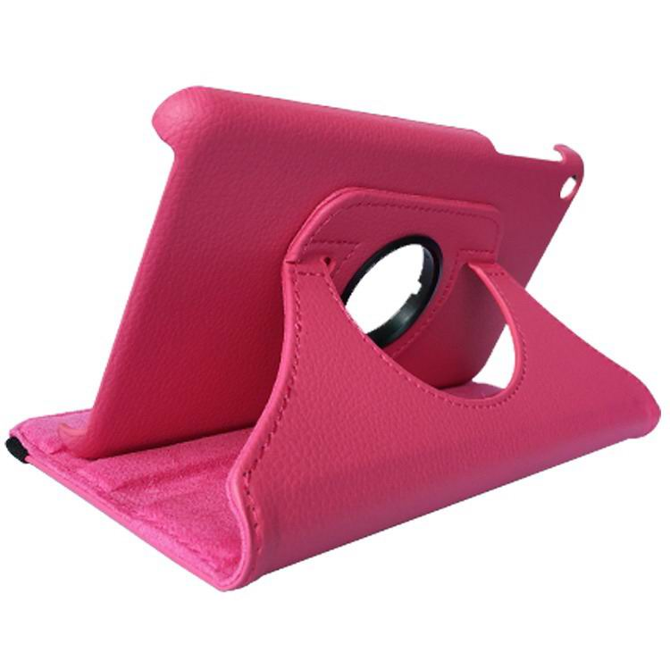 mediapad t1 70 plus rotation case rose red: