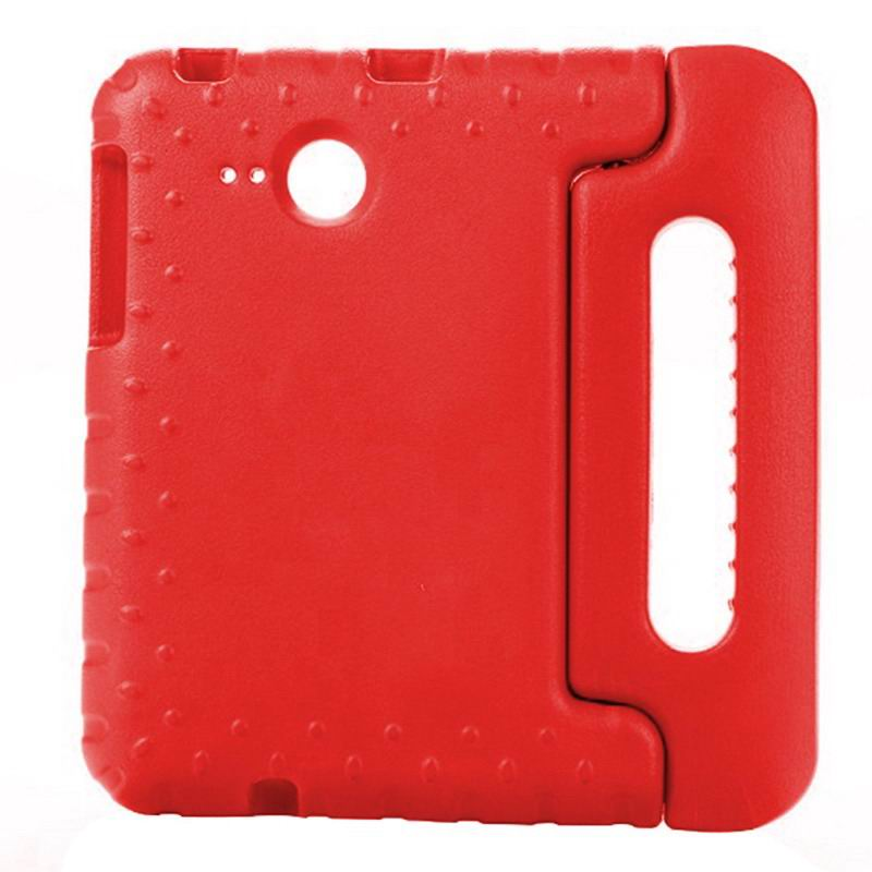 galaxy tab a 7 0 2016 silicone case with handle Red: