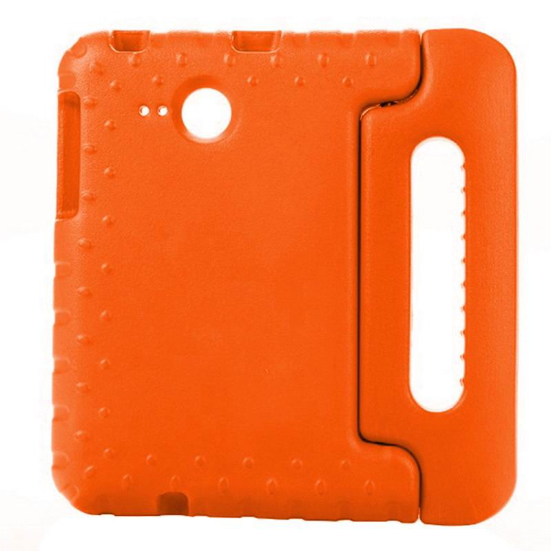 galaxy tab a 7 0 2016 silicone case with handle Orange: