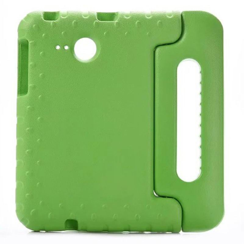 galaxy tab a 7 0 2016 silicone case with handle Green: