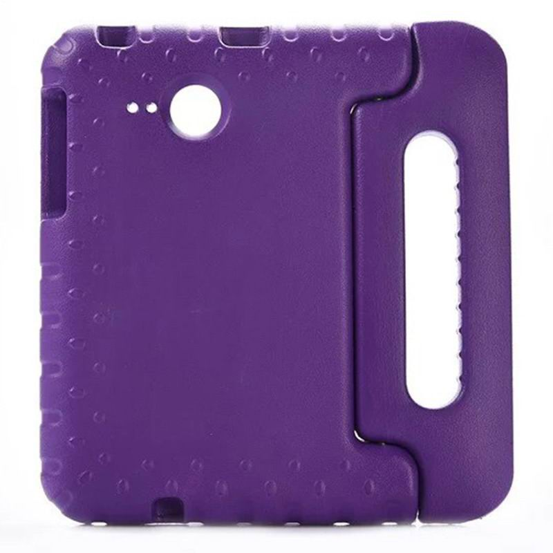 galaxy tab a 7 0 2016 silicone case with handle Purple:
