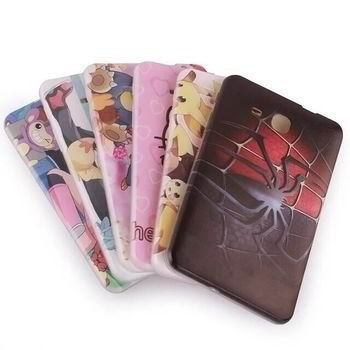 silicone cover with cartoon pictures of kitty spider man and other 00