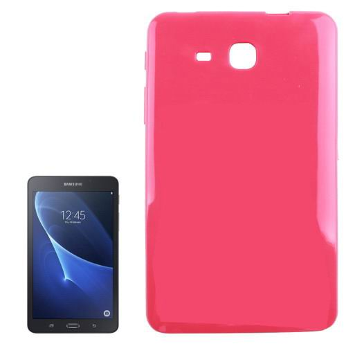 Smooth surface TPU cover for Samsung Galaxy Tab A 7.0 2016 magenta color