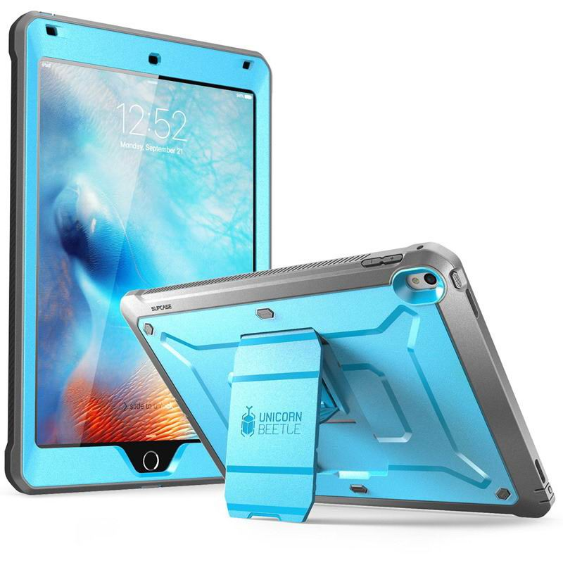 ipad pro 9 inch supcase protective case with stand blue deep: