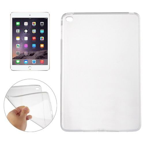 Transparent TPU cover with multicolor pattern for iPad Mini 4