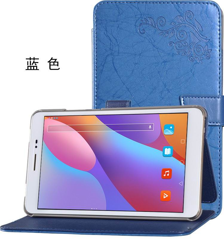 honor pad 2 bright printing case blue: