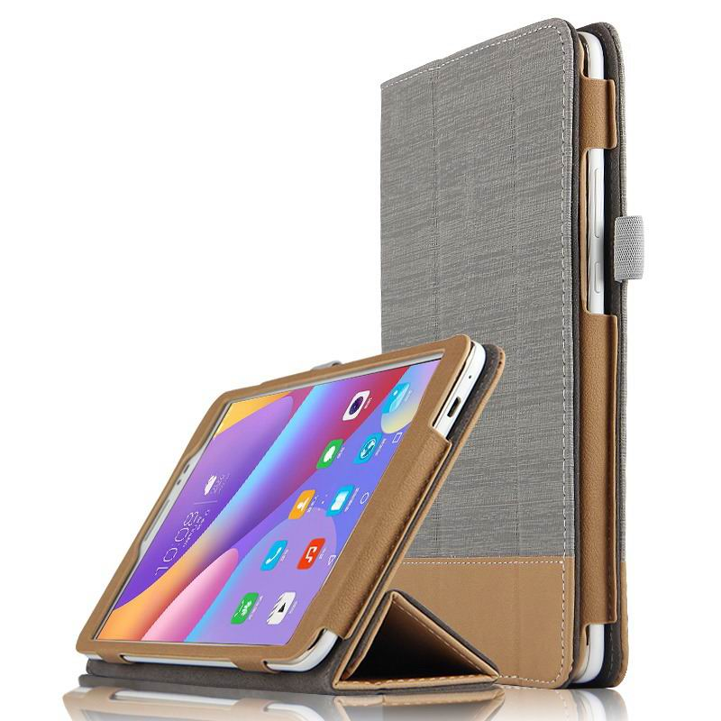 honor pad 2 business bicolour case with stand Simple gray: