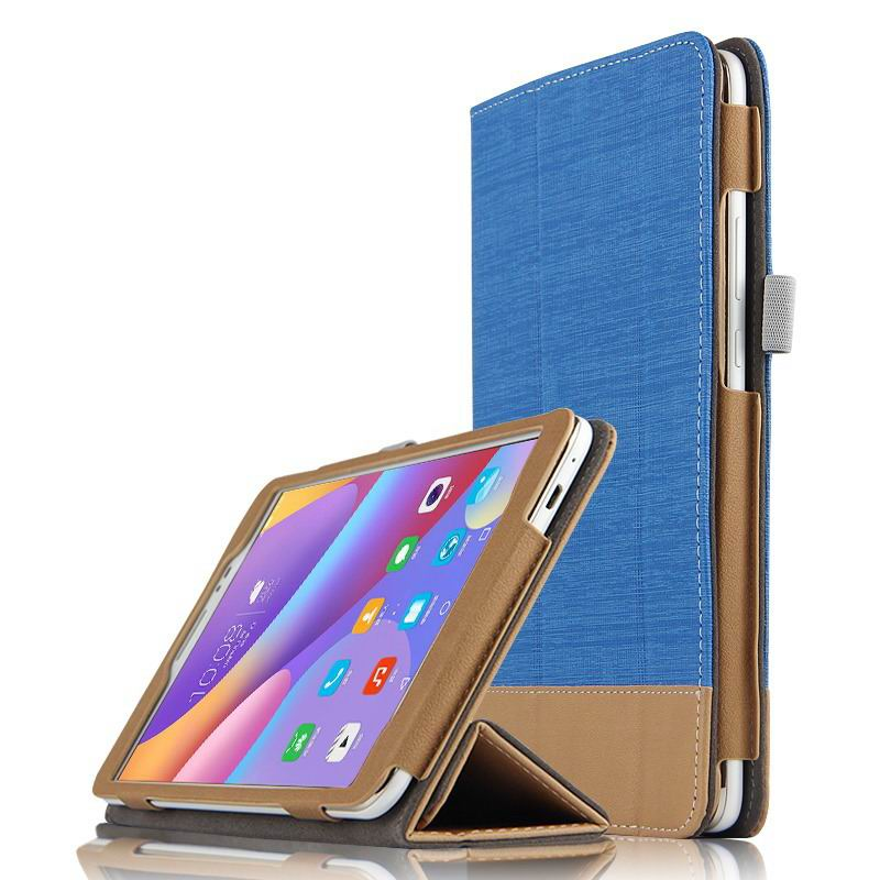 honor pad 2 business bicolour case with stand Sapphire blue: