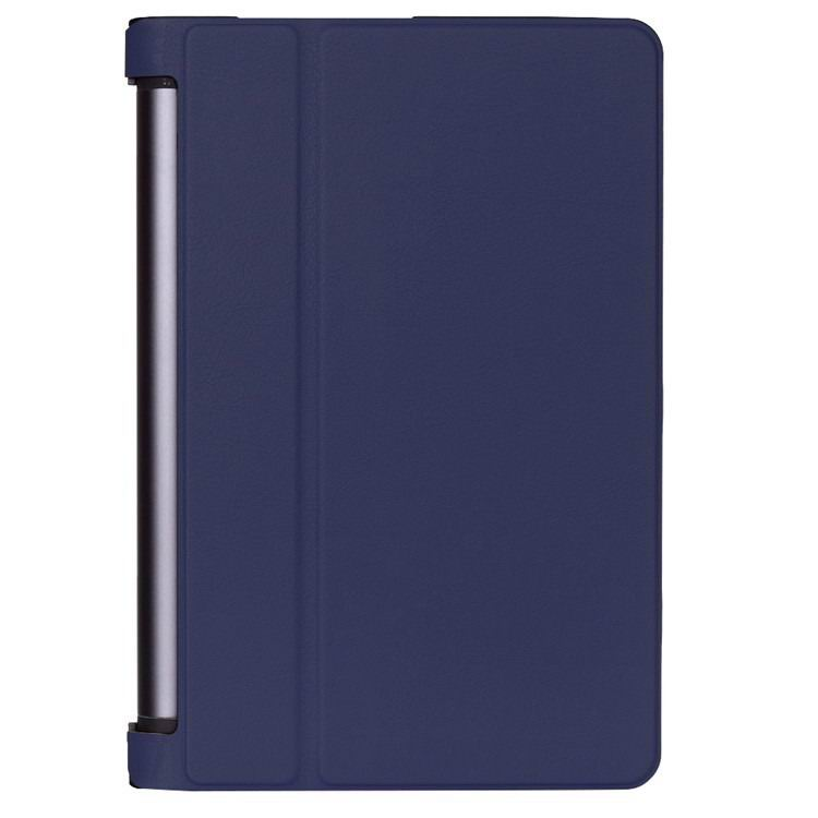 yoga tab 3 plus business case with stand multicolor frond and black back cover Dark blue: