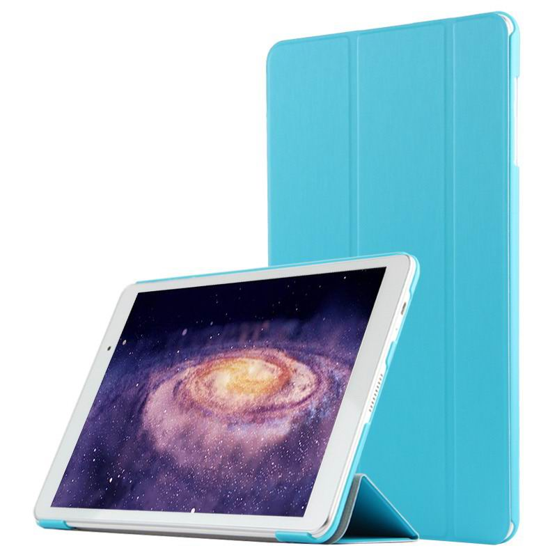 mediapad m2 10 business case with three part stand and pen holder Sky blue:
