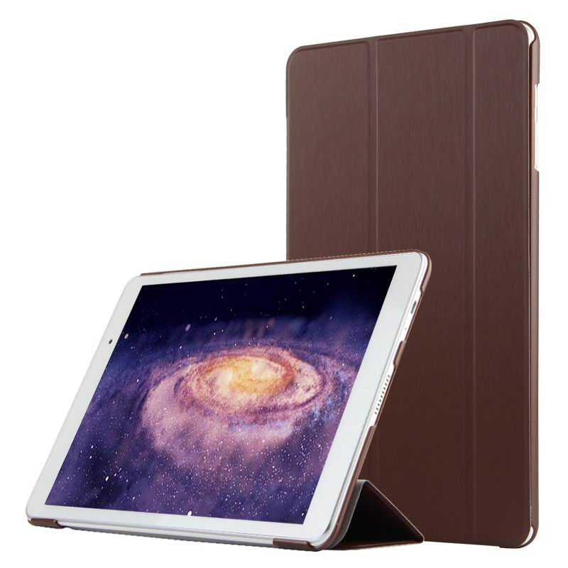 mediapad m2 10 business case with three part stand and pen holder Elegant brown: