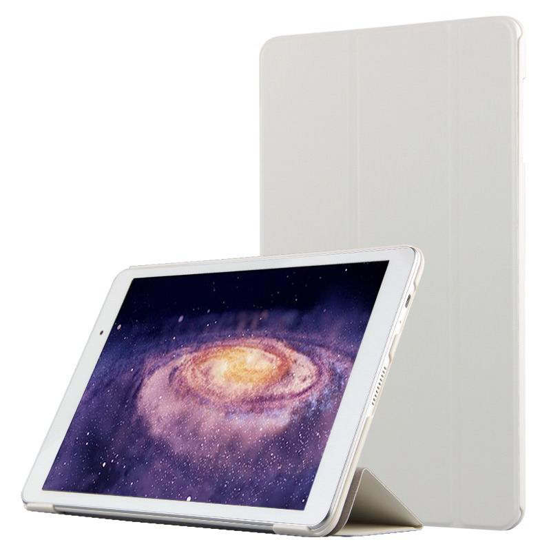 mediapad m2 10 business case with three part stand and pen holder Snow white:
