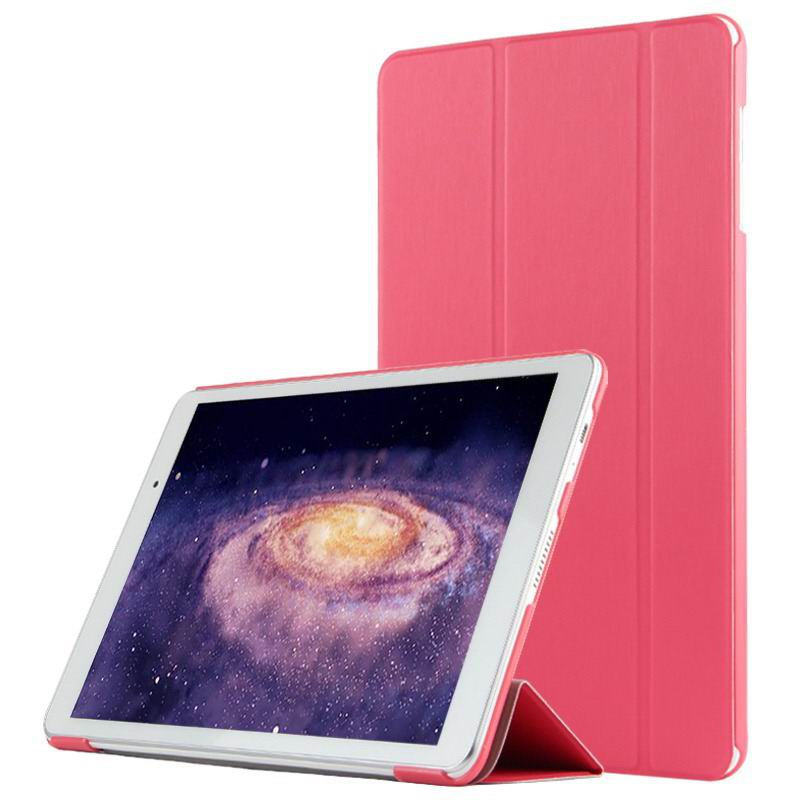 mediapad m2 10 business case with three part stand and pen holder Powder honey red: