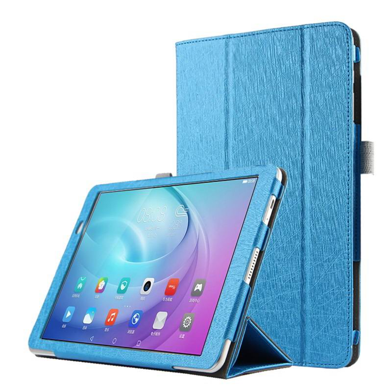 mediapad m2 10 business case with three part stand and pen holder Blue: