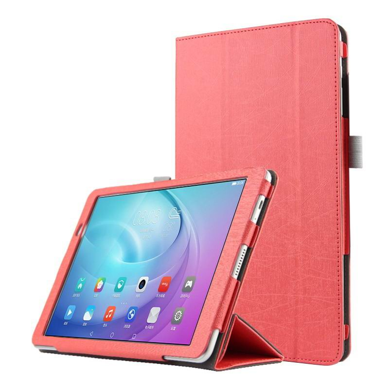 mediapad m2 10 business case with three part stand and pen holder Pink: