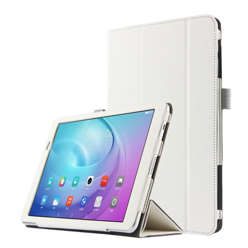 mediapad m2 10 business case with three part stand and pen holder White: