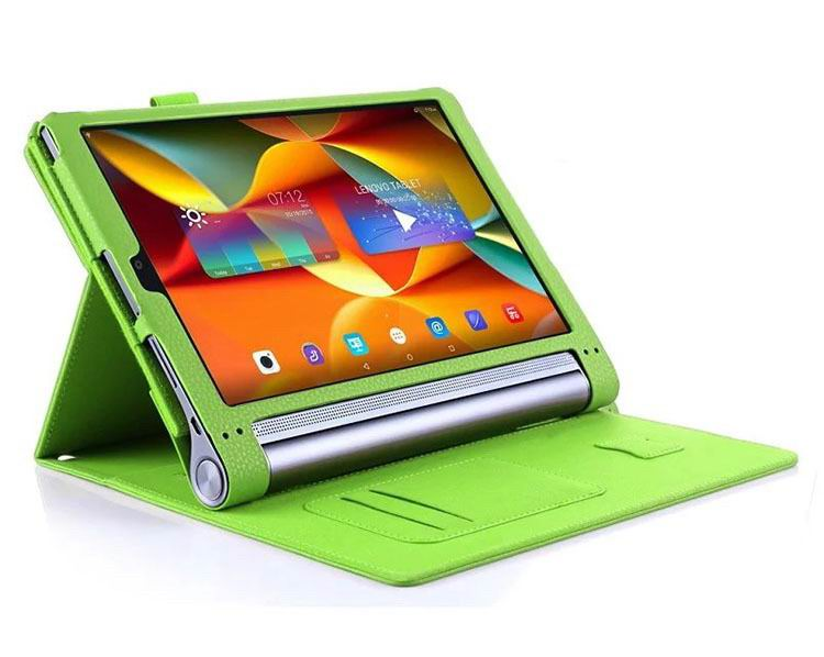 Business case with wrist loop card holder and 360 stand for lenovo yoga tab 3 plus business case with wrist loop card holder and 360 stand colourmoves Choice Image