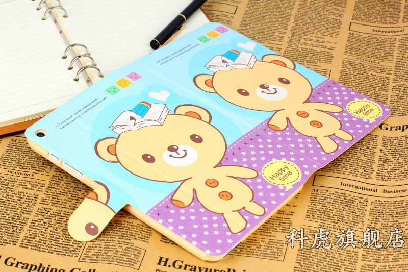 honor pad 2 case with cute animals and yellow housing