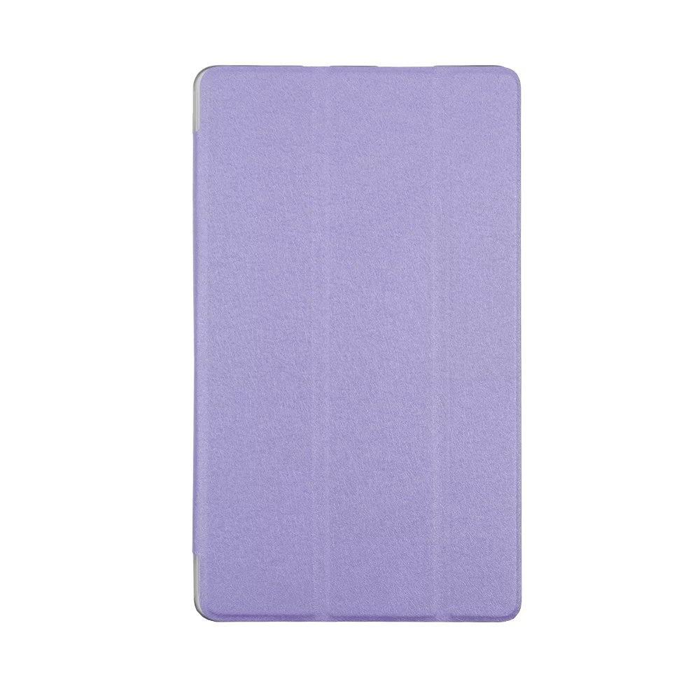 honor pad 2 one color case with transparent plastic housing Purple: