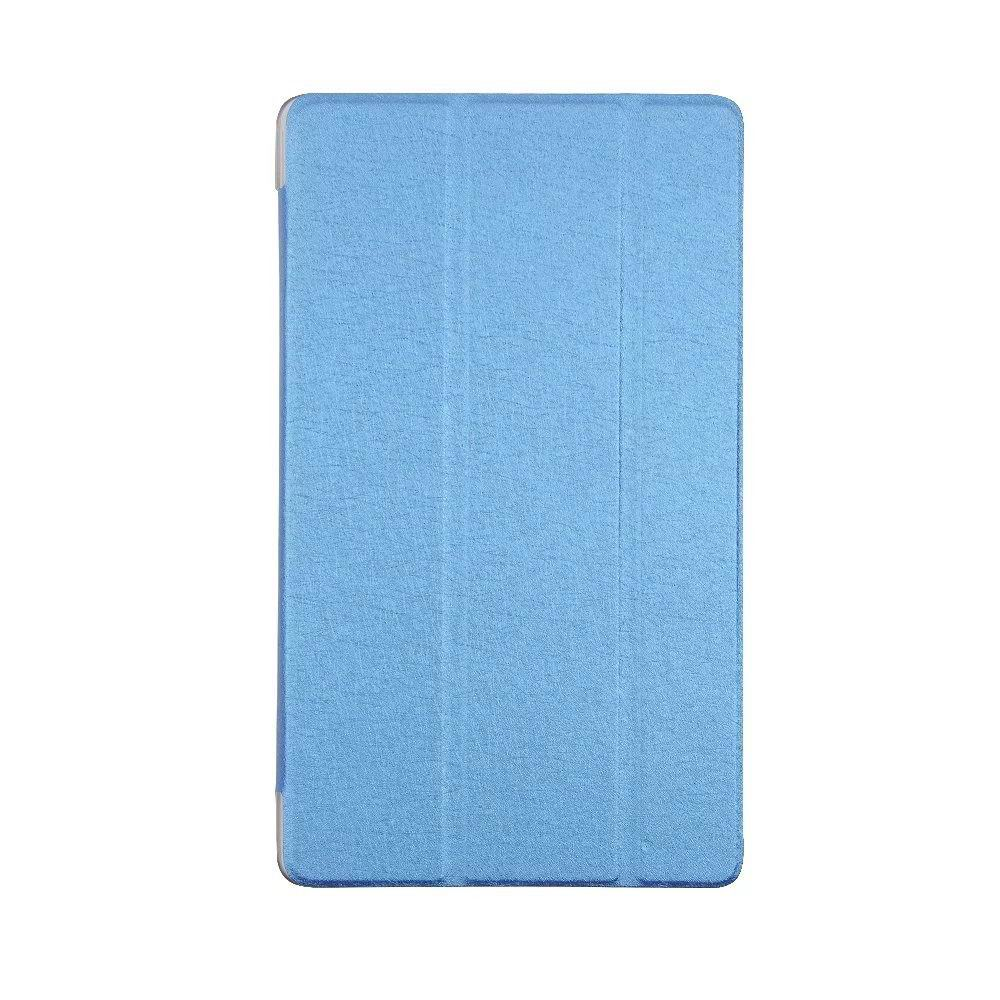 honor pad 2 one color case with transparent plastic housing Sky blue: