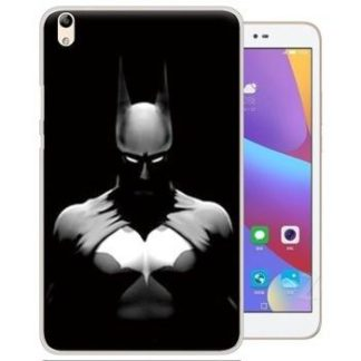 Painted cover with cartoon pictures of Batman, Superman, scull and other for Huawei Honor Pad 2 JDN-W09
