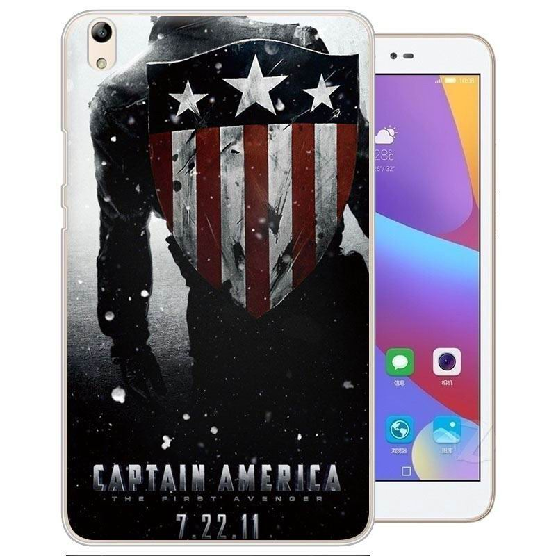 honor pad 2 painted cover with cartoon pictures of batman superman scull and other Captain America: