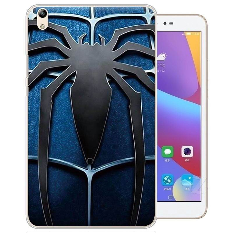 honor pad 2 painted cover with cartoon pictures of batman superman scull and other Spider logo: