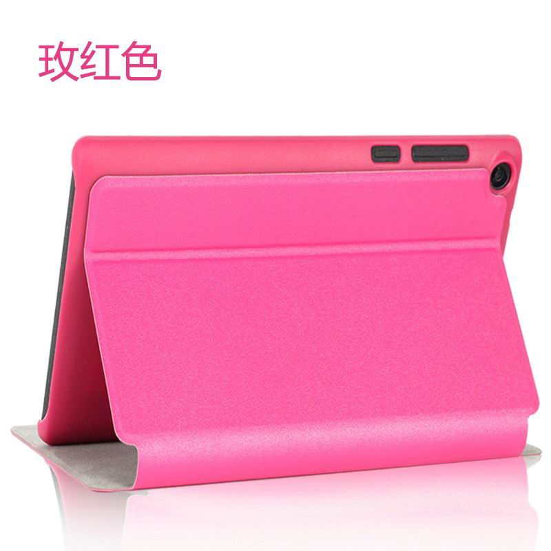 tab3 7 plain case 14 Rose red: