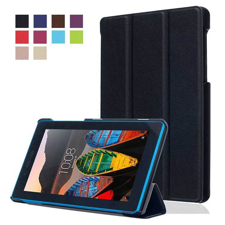 tab3 7 plain case with black frame 3 Black: