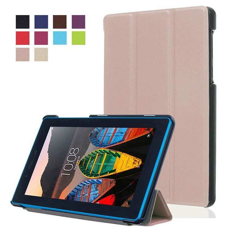 tab3 7 plain case with black frame 3 Silver grey: