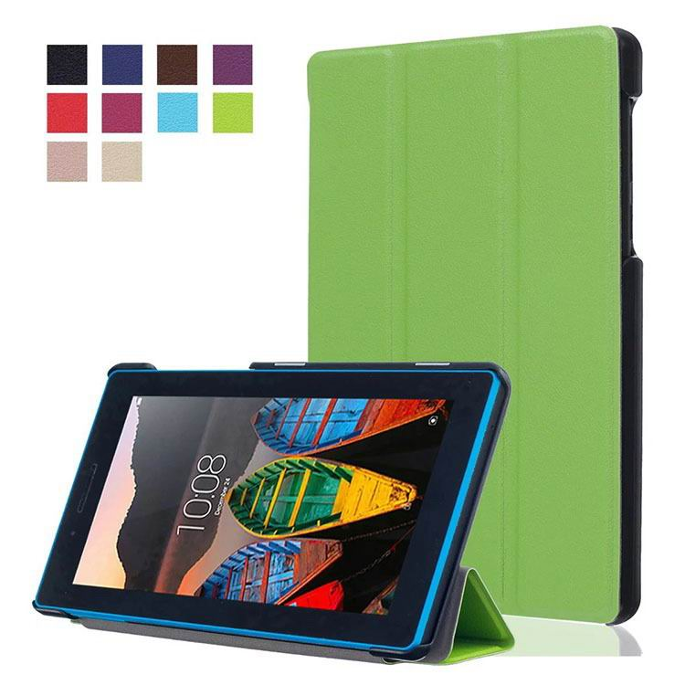 tab3 7 plain case with black frame 3 Green: