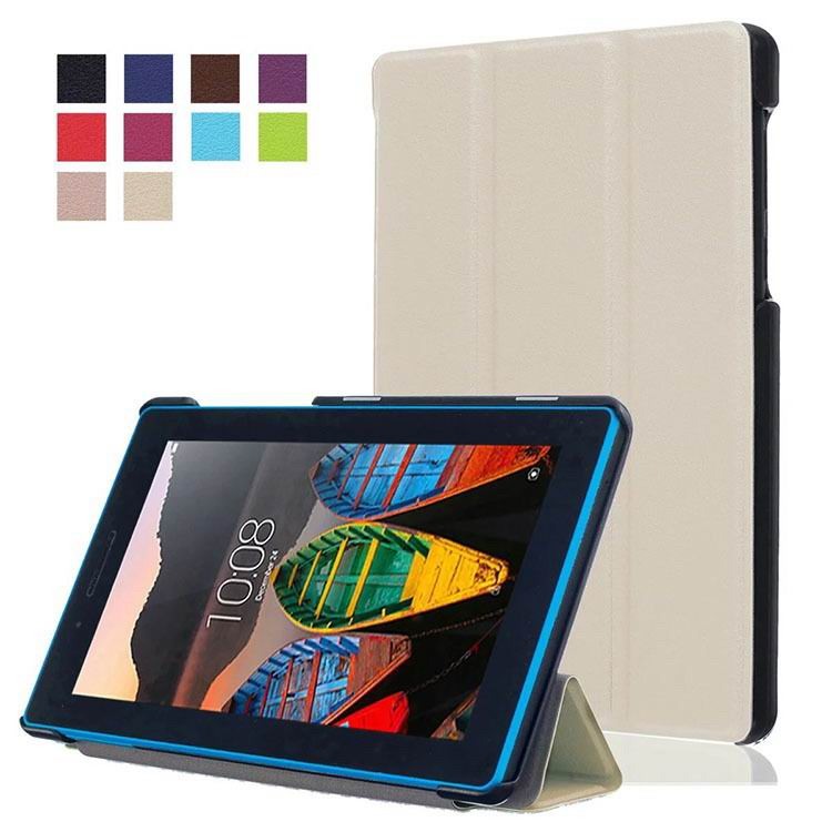 tab3 7 plain case with black frame 3 Silver color: