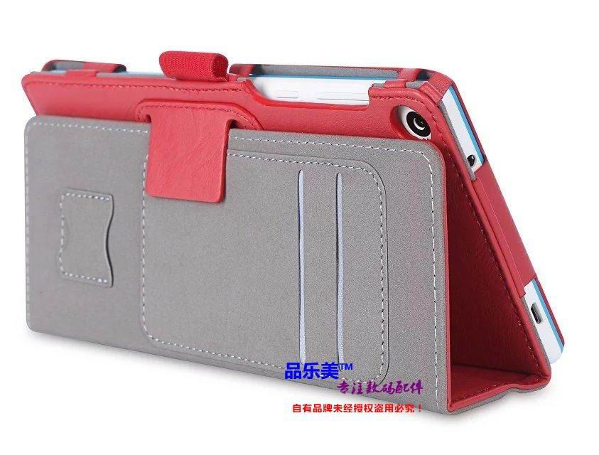 tab3 7 plain case with handle and card slots Red: