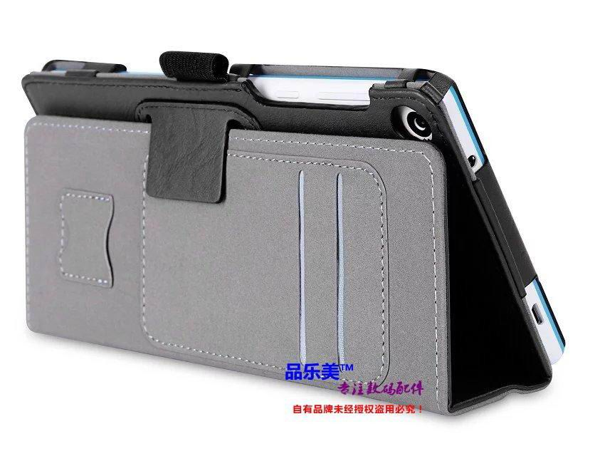 tab3 7 plain case with handle and card slots Black: