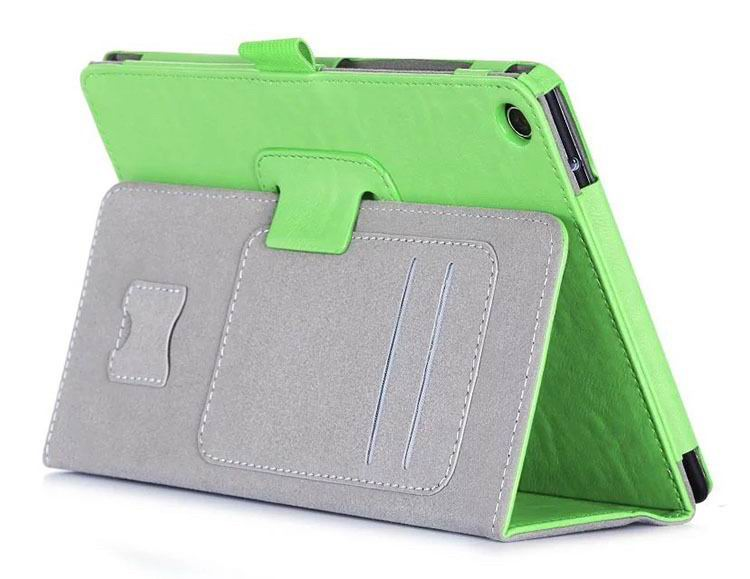 zenpad 3 80 z581kl business case with 2 stand deep cover hand loop and card pockets Green: