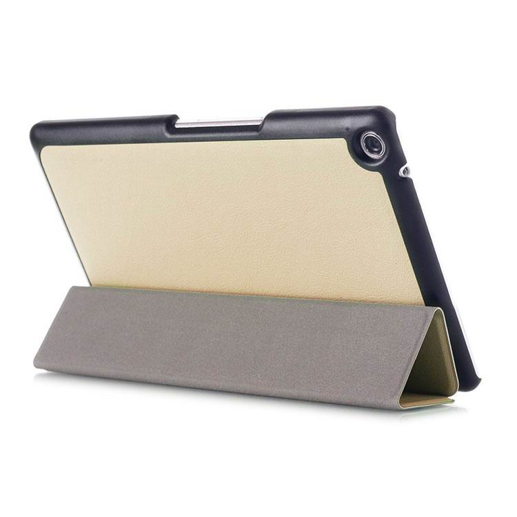zenpad 3 80 z581kl business case with 3 stand and multicolor pattern Golden: