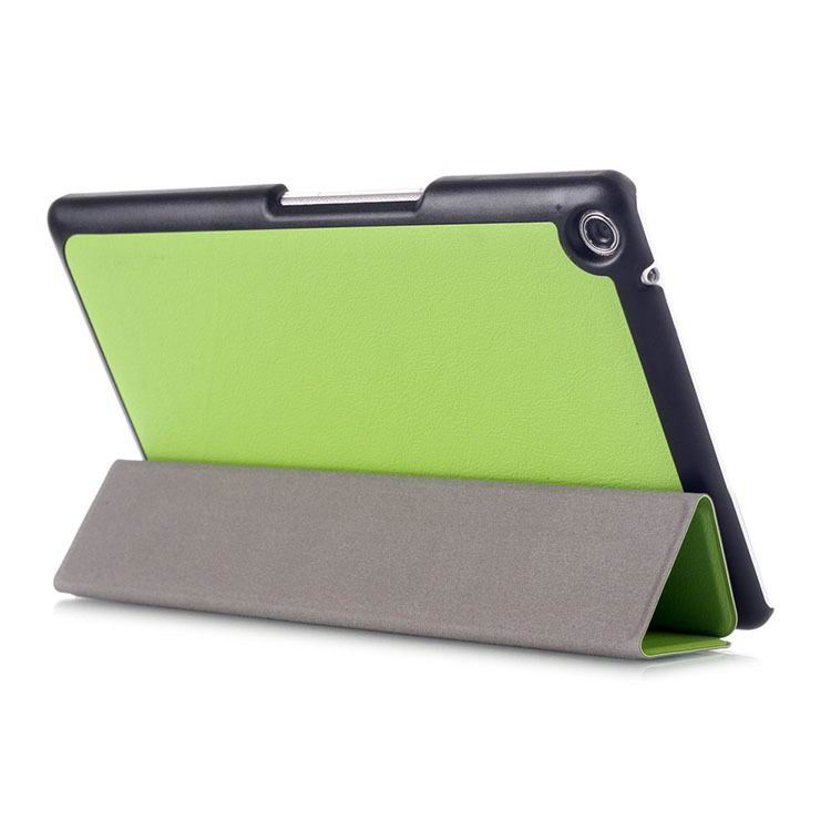zenpad 3 80 z581kl business case with 3 stand and multicolor pattern Green: