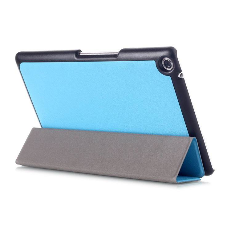 zenpad 3 80 z581kl business case with 3 stand and multicolor pattern Sky blue: