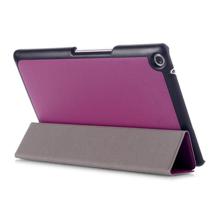 zenpad 3 80 z581kl business case with 3 stand and multicolor pattern Purple: