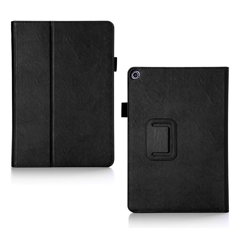 zenpad 3s 10 z500m business case with multicolor pattern wrist loop card holders and two stand Black: